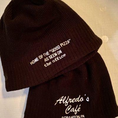 Alfredo's Café Fan Wear ~ Black Beanies