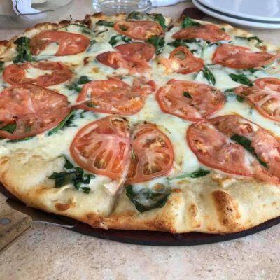 Bruchetta Pizza