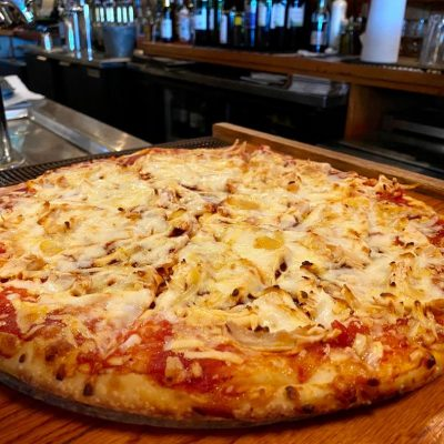 Chicken Barbeque Pizza