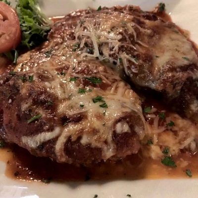 *Chicken Parmigiana