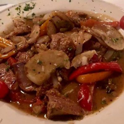 *Veal Calabrese