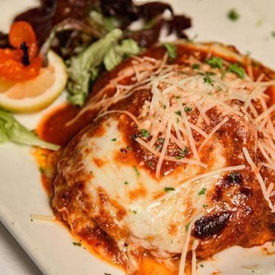 *Veal Parmigiana
